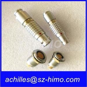 Wholesale wholesale push pull 7 Pin LEMO 1B Rapid locking panel mounted socket from china suppliers