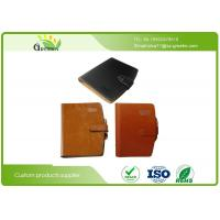 Wholesale Exquisite Daily Work Leather Loose Leaf Notebook With Inner Wood Paper Protect Eyesight from china suppliers
