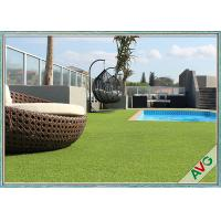 Wholesale Swimming Pool Decoration Outdoor Synthetic Grass Apple Green UV Resistance from china suppliers