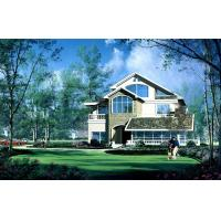 Quality House Prefabricated  , High Insulation Villa With PVC Sliding Windows for sale