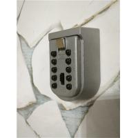 Wholesale Adjustable Outside Key Lock Box Storage , Outdoor Wall Mounted Key Safe from china suppliers