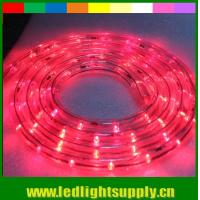 Wholesale different color glue flexible led rope 1/2'' 2 wire duralight 12/24v lights from china suppliers