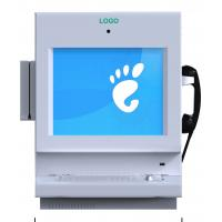 Wholesale Wall Mounted Kiosk / Desktop Information Kiosk with Metal Keyboard ZT2133-B00 from china suppliers