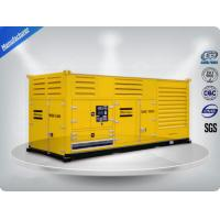 Wholesale 1000 Kw Container diesel generator set powered by Cummins diesel engine 16 cylinder from china suppliers