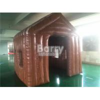 Wholesale Outdoor Small 3 * 3 * 3m Brown Inflatable Tent House For Event / Hospital Rescue from china suppliers