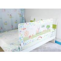 Quality Cartoon Mesh Safe Sleeper Flat Bed Rails For Toddlers / Adults for sale