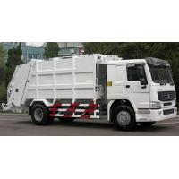 Wholesale SINOTRUK Howo 4*2 Compressed Garbage Truck from china suppliers