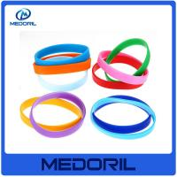Wholesale Promotional Cheap custom logo silicone slap bracelet with high quality from china suppliers