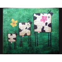 Wholesale Wood, Masonite Board Cartoon Decorative Paint Handmade Oil Painting ETH104 from china suppliers