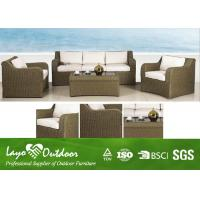 Wholesale 4pcs Loveseat Sofa Set  Patio Outdoor Furniture Minimum Maintenance Feature from china suppliers