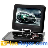 Wholesale 10 Inch Swivel Screen Portable DVD player (Hitachi 120x Lens, 1024*600, 16:9) from china suppliers