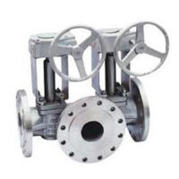 Wholesale Single Or Double Flush Lubricated Plug Valve 3 Way 10 Inch 300lbs API 6D from china suppliers