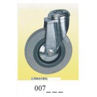 Wholesale Gray rubber Caster wheel top hole 007 from china suppliers