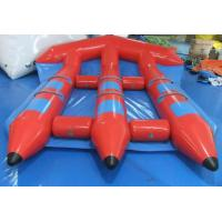 Wholesale Funny Red Inflatable Toy Boat , PVC Inflatable Water Flyfish for Water Sport Game from china suppliers