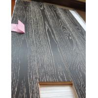 Buy cheap China Ash engineered wood flooring, white washed and black stained from wholesalers