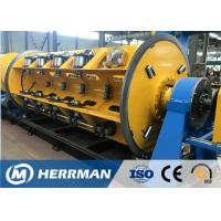Buy cheap Horizontal Wire Manufacturing Machine , Rigid Type Steel Wire Armouring Machines from wholesalers