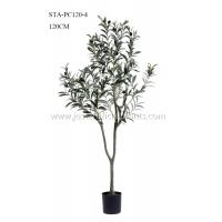 Wholesale Premium Foliage Plastic Olive Tree Vibrant Color 200CM Thriving Plastic Pot Base from china suppliers