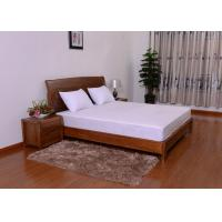 Wholesale Vinyl Zippered Mattress Cover Laminated With TPU , Toddler Mattress Cover from china suppliers