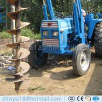 Wholesale Heavy duty Post Hole Digger  Augers for Tractors Tractor PTO auger from china suppliers