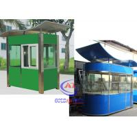 Wholesale Prefabricated safety Sentry Box House Stainless Steel bright in color from china suppliers