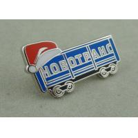 Wholesale Silver Hard Enamel Lapel Pin Brass Die Stamped Promotional Brooch Pin from china suppliers