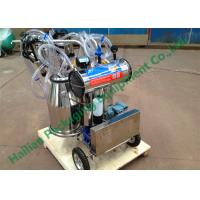 Wholesale Hand Operated Milk Sucking Machine Twin Buckets With Vacuum Pump from china suppliers