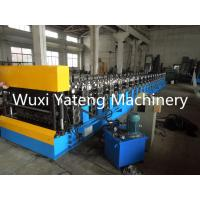 Wholesale Portable Galvanized Roofing Sheet Roll Forming Machine , Steel Roofing Machine 1250mm Width from china suppliers