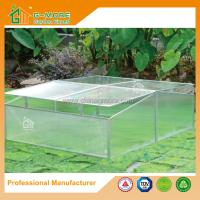 Wholesale 100 x 120 x 40cm Silver Color Cold Frame Series Garden Greenhouse from china suppliers