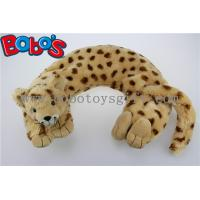 Wholesale Home Products Plush Stuffed Lorpard Animal U Shape Microwave Heated Neck Pillows from china suppliers