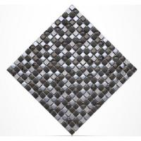 Wholesale Diamond Crystal Plated Glass Kitchen Backsplash Mosaic Tiles 15 X 15mm from china suppliers