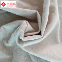 Wholesale Warp Knitting Arts and Crafts Fabric , Sofa / Furniture Flocked Velvet Fabric from china suppliers