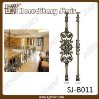 Wholesale Indoor Antique Brass Casting Balustrade for Handrail (SJ-B011) from china suppliers