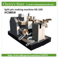 Wholesale Split pin making machine K8-100 Equipment For Produce DIN Standards 5mm Split Pin Key from china suppliers