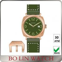Wholesale Super Lunimous Green Face Mens Work Watches , 9015 Movt Bronze Ladies Watch from china suppliers