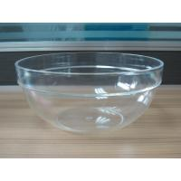 Wholesale 282g Round Salad Clear Acrylic Bowl With Customized Logo from china suppliers