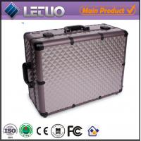 Wholesale cosmetic bags cases cosmetic case makeup case with lights from china suppliers