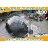 Wholesale Transparent Inflatable Advertising Products / Inflatable Snow Ball For Motor Show from china suppliers
