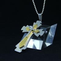 Wholesale Fashion Top Trendy Stainless Steel Cross Necklace Pendant LPC423 from china suppliers