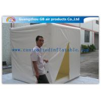 Wholesale Cube Mini Inflatable Air Tent 2.4m Customized Fire Resistance for Advertisement from china suppliers