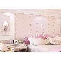 Wholesale Lovely Dreamlike Rose Soundproof Childrens Bedroom Wallpaper 0.53*10m from china suppliers