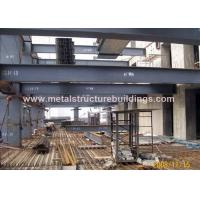 Wholesale Commercial Steel Frame Structure , Pre Engineered Mezzanine For Workshop from china suppliers