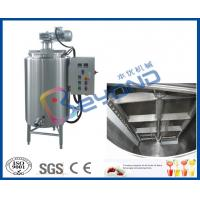 Wholesale Electrical Control Chocolate Holding Tank , SUS304 Stainless Steel Food Grade Tank from china suppliers