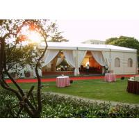 Wholesale Beautiful Outdoor Garden Party Marquees With Windows / Curtain For Banquet from china suppliers