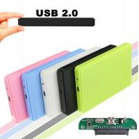 Wholesale USB 2.0 External Hard Disk Case Slim Portable 2.5 HDD Enclosure SATA Hard Disk Drives HDD Case Plug And Play from china suppliers