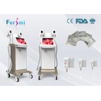 Wholesale Fat removal cellulite machine on sale promotion 2 cryo handles working together 1800W power 15 inch touch screen from china suppliers