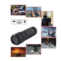 China Sports Action Camera waterproof HD 720P 30FPS 8MP 120A+ HD Wide-angle Lens DVR Helmet Action Camera Camcorder Car DVR on sale