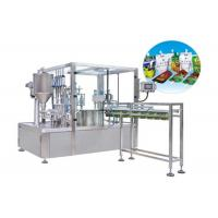 Wholesale Fully Automatic Stand Up Pouch Zip Bag Liquid Packing Machine HT-ZGY1000 from china suppliers