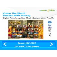 Wholesale ISO Digital Media Content Creation For EPG Guide On IPTV OTT DVB Platform from china suppliers