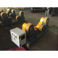 Quality Self - Aligned Welding Rotator With Metal Roller , Frequency Stepless Speed Adjust for sale