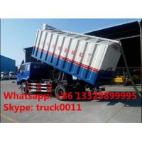 Wholesale bulk grains suction and delivery truck with factory price, forland self-sucking grains transported van truck for sale from china suppliers
